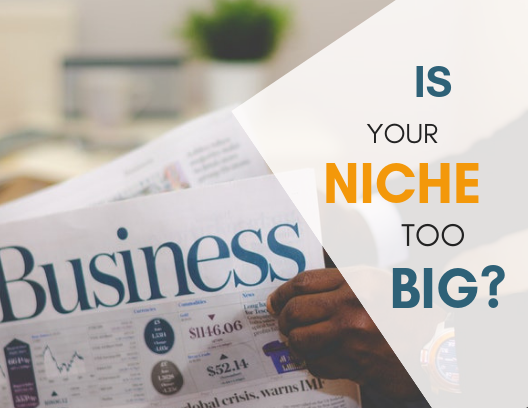 Is Your Niche Too Big?